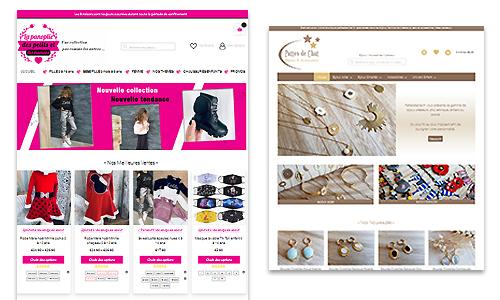 création de boutique en ligne - E-commerce
